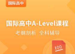 国际高中A-Level强化课程