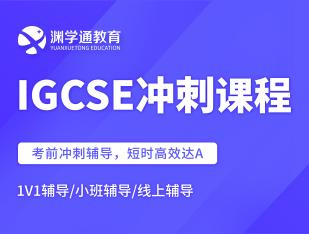 国际高中IGCSE冲刺课程
