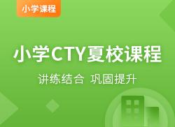国际小学CTY夏校课程