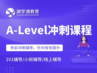A-Level冲刺课程